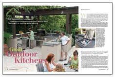 Great Outdoor Kitchens