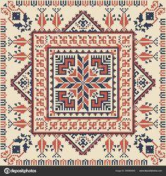 Seamless pattern design with traditional Palestinian embroidery motif Cross Stitch Cushion, Cross Stitch Art, Cross Stitch Designs, Cross Stitching, Cross Stitch Patterns, Hand Embroidery Flowers, Embroidery Motifs, Cross Stitch Embroidery, Palestine Art