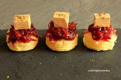 Toasts feuilletés au confit d'oignons et foie gras (Blog Zôdio)