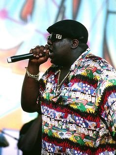 The NOTORIOUS B.I.G. (Biggie Smalls) 1997  Age 24