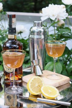 Summer tastes better with bourbon & even better with this Bourbon Sidecar! Get the recipe today on LaurenKelp.com