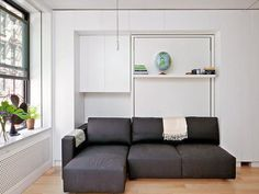18 Wall Bed Couch Designs For Small Interior