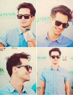 """I love being the center of attention. I'm shameless about it."" - Brendon Urie"