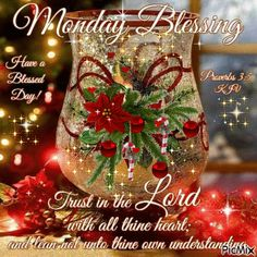 Holiday Monday Blessing Gif monday happy monday monday blessings monday quote monday image quotes monday quotes and sayings monday gifs monday wishes monday image monday animation Monday Blessings, Christmas Blessings, Morning Blessings, Christmas Wishes, Christmas Greetings, Christmas Bulbs, Merry Christmas, Good Morning God Quotes, Good Morning Gif
