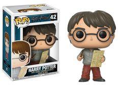 Harry Potter POP! Vinyl Figure - Harry /w Marauders Map @Archonia_US