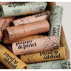 Poppy & Pout Lip Balm - Sweet Mint