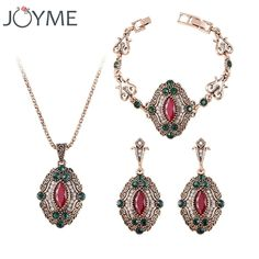 3Pcs/set Turkey Red Green Jewelry Sets Vintage Look Luxury Necklace Earrings Set Plating Antique Gold Unique Crystal For Women     Tag a friend who would love this!     FREE Shipping Worldwide     Buy one here---> http://jewelry-steals.com/products/3pcsset-turkey-red-green-jewelry-sets-vintage-look-luxury-necklace-earrings-set-plating-antique-gold-unique-crystal-for-women/    #womens_watches