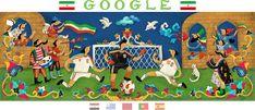 The Story of Norouz - Rashin Google Doodles, World Cup 2018, Fifa World Cup, Google Banner, Holiday Logo, Eric Thomas, New Year Holidays, Doodle Art, Kids Rugs