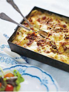 En lasagne som har allt förutom köttfärs!