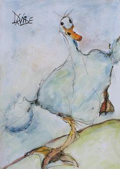 Valerie Davide Betsy the duck