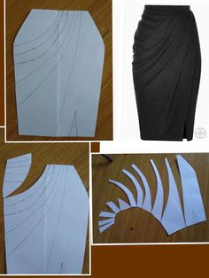 Best 12 sketches for customized. - Page 105693922491611878 - SkillOfKing. - Best 12 sketches for customized. – Page 105693922491611878 – SkillOfKing. Drape Skirt Pattern, Pattern Draping, Skirt Patterns Sewing, Sewing Patterns Free, Clothing Patterns, Pattern Dress, Fashion Sewing, Diy Fashion, Ideias Fashion