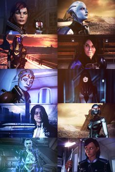 The Valkyries of Mass Effect