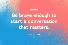Dau Voire #Quote