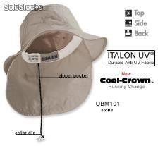 Whispering Pines Sportwear Extreme Vacationer Bucket Cap With Neck Cape, White, Extra Large Collar Clips, Bucket Cap, Anti Uv, Change, Cool Stuff, Bleach, Iron, Cold, Hats