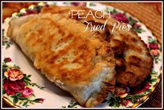 Sweet Tea and Cornbread: Peach Fried Pies!