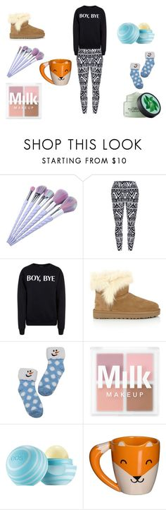 """""""Cold Sunday Morning"""" by harthur2021 ❤ liked on Polyvore featuring Fuji, Private Party and UGG"""
