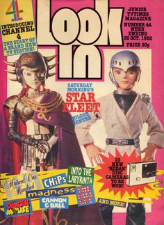 'Look In' magazine Star Fleet front cover