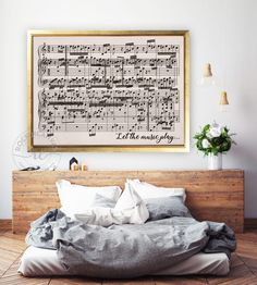 First Dance Music Sheets Print, Paper Anniversary Gift, Music Notes Art, Large Canvas Print, Custom Song Music Sheets by RockinCanvas Music Notes Art, Music Wall Art, Sheet Music Art, Sheet Music Notes, Music Sheets, 3 Piece Canvas Art, Large Canvas Prints, Canvas Wall Art, Song Lyrics Art
