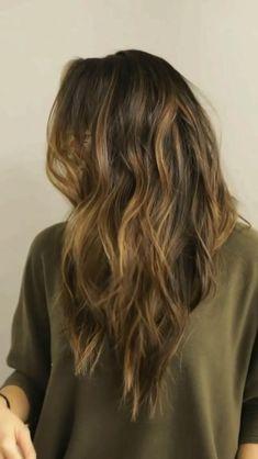 Diy Haircut, Hair Color Auburn, Celebrity Hair Stylist, Haircut And Color, Light Brown Hair, Silky Hair, Hair Transformation, Hair Dos, New Hair