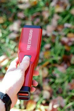 This Portable Fire Extinguisher is Also Refillable #camping #outdoors trendhunter.com
