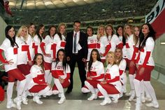 Our Cheerleaders from Gdynia