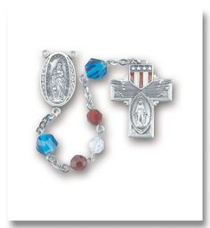 red_white_opal_crystal_bead_military_rosary