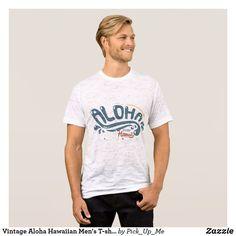 Vintage Aloha Hawaiian Men's T-shirts