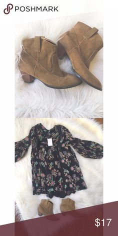 Ankle Booties Super cute ankle booties with whispers of the old west. Shoes Heeled Boots