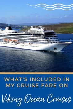 See why a cruise with this luxury line might be the best value for your travel dollars in our comprehensive post on What's Included on Viking Ocean Cruises. Best Cruise, Cruise Tips, Cruise Travel, Cruise Vacation, Cruise Excursions, Cruise Destinations, All Inclusive Cruises, Luxury Cruises, Viking Ocean Cruise