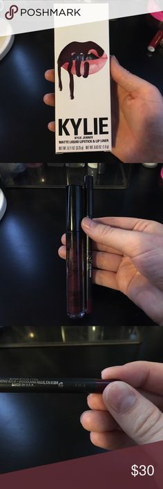 KYLIE LIP KIT VIXEN New. Lip liner tested. MAC Cosmetics Makeup Lipstick