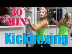 Tone arms, legs, booty and abs with this KICKBUTT Cardio Kickboxing Workout! Blast calories, burn fat and challenge your body in new ways by doing this kickb. Kickboxing Workout, Toning Workouts, Studio Workouts, Home Boxing Workout, Bodybuilding, 30 Minute Workout, Boxing Training, Fat Burning Workout, Fitness Studio