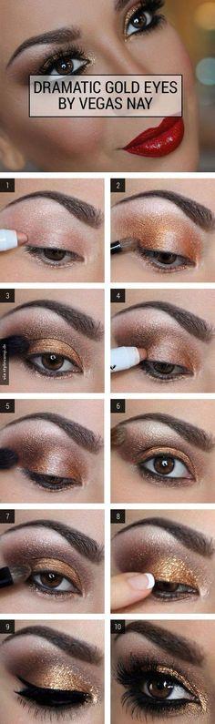 Glamour Look für deine Augen