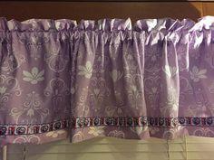 Disney Frozen Princess Purple Window Valance  by CheriesSewCrafty
