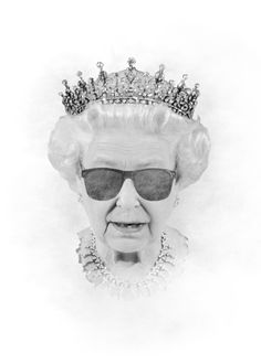 you need this one QUEEN Art Print @Kayleigh Walters