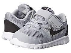 Nike Kids Flex 2015 Run (Infant/Toddler) Game Royal/Black/White 4 - Zappos.com Free Shipping BOTH Ways