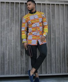 Groom And Groomsmen Wedding Suit Styles And Attire Ideas 2018 African Shirts For Men, African Attire For Men, African Clothing For Men, African Wear, African Inspired Fashion, African Print Fashion, Africa Fashion, African Fashion Dresses, Ankara Styles For Men