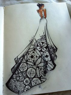 blackfashion:  loveandboho african fashion illustrator