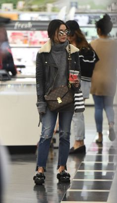 VANESSA HUDGENS Out Shopping in Los Angeles 02/05/2017