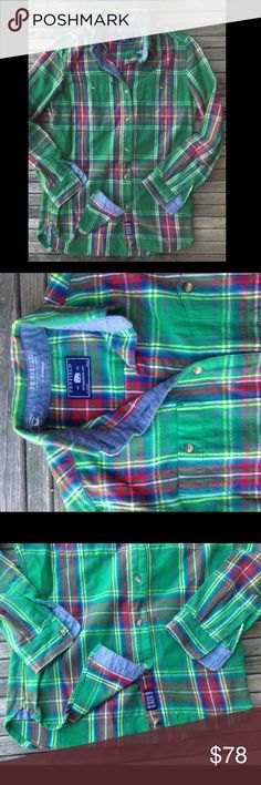 Euc Penfield X madewell flannel tartan plaid top Sz xs sold out at madewell flannel top retail $98  Sz medium   Massachusetts-born Penfield has been churning out top-notch, weather-resistant outerwear coveted by fans of heritage-style clothing and outdoor enthusiasts alike since 1975. This superwarm and cozy flannel check button-down is the kind of woodsy piece you can wear anywhere.  True to size. Cotton. Machine wash. Import. Madewell Tops Button Down Shirts