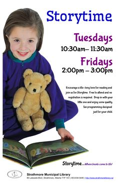 Who doesn't love Storytime? New themes each week.