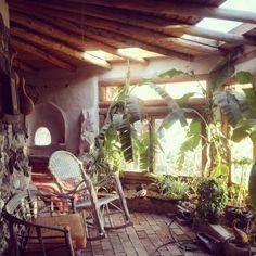 Cob house at Shamballa Permaculture.