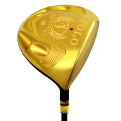 320.00$  Buy here - http://aiw08.worlditems.win/all/product.php?id=32801963762 - POLO Men's Golf Clubs Driver Right Hand Cast Titanium Alloy 1# Woods /SwingWeight D1/ Shaft Hardness SR / Graphite Regular Gold