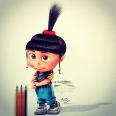 Cute Agnes by samiahdagher on DeviantArt