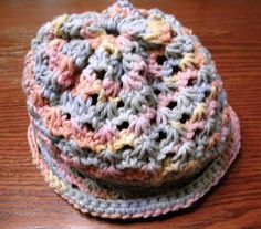 Narcissus Lace Rectangle Hat free crochet pattern