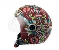 Fashion helmets Catalina garnet