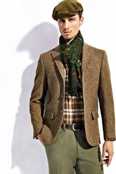SENSE: Ralph Lauren 2012 Fall/Winter Collections Editorial.