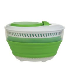 Look what I found on #zulily! 3-Qt. Collapsible Salad Spinner by Progressive #zulilyfinds