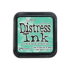 TIM43218  Tim Holtz Distress Ink Pad Cracked Pistachio
