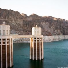Lake Mead, the reservoir created by the Hoover Dam, is popular with divers. Underwater sites include desert rock formations, immersed since the Colorado River was dammed, as well as submerged train tracks and concrete tunnels left over from the dam's construction in the 1930s.  Via T+L (www.travelandleisure.com).