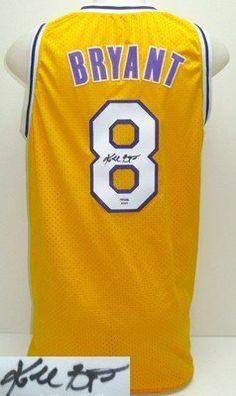 3bb79ceb5 Kobe Bryant Autographed LA Lakers Custom Jersey SI  amp  PSA DNA B09625 .   375.00